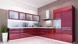 I shape kitchen