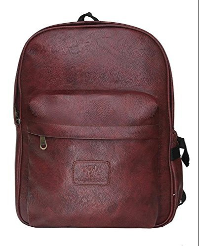 Synthetic Leather Executive Office Formal Backpack 15.6 inch Laptop Tablet  Bag for Men Women f1ae21615