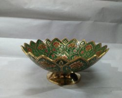 Multicolor Brass Bowl
