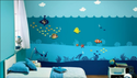 Multicolor Asian Paints Ocean Scape Magneeto Themes