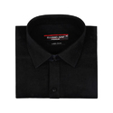 Full Sleeves Black Color Plain Shirt