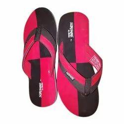 Synthetic Daily wear Bata Sunshine Mens Flip Flop Slipper, Size: 6-12