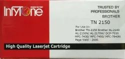 BROTHER TN 2150 (TN 2150) Compatible Black Toner Cartridge for Brother Printers
