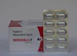 Mecobalamin 750 mcg Pregablin 75 mg