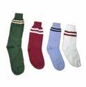 Single Strips School Socks