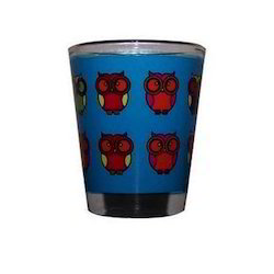 Printed Shot Drinking Glass