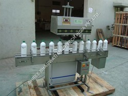 Induction Cap Sealing Machine for Herbicides