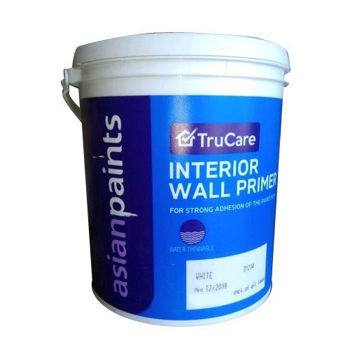 White Gloss Asian Paints Interior Wall Primer Packaging Size 10kg Rs 140 Ltr Id 20681393697