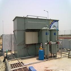 Semi-Automatic Paper Mills And Automobile 0.75 kW Sewage Treatment Plant, Installation Available
