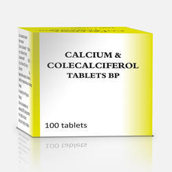 Calcium & Cholecalciferol, Packaging: Strips