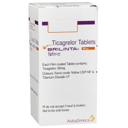 Brilinta Ticagrelor Tablet 180 Tablets Bottle