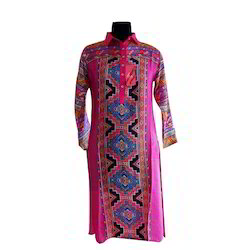 Cotton Printed Ladies Kurtis, Full Sleeve