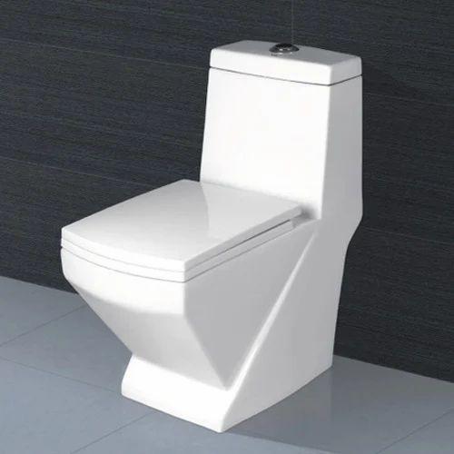 Ceramic Bathroom Western Toilet Rs 1200 Piece Ganesh