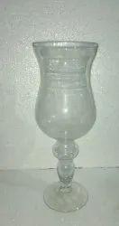 White Glass Mashal Tallia 15'', Shape: Round