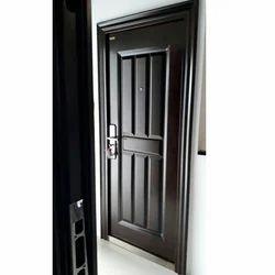Black Steel Door