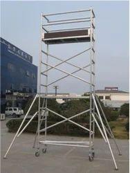 Aluminum Rolling Scaffolding Ladder