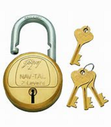 Godrej Golden GODRAJ LOCK 50 MM, Chrome