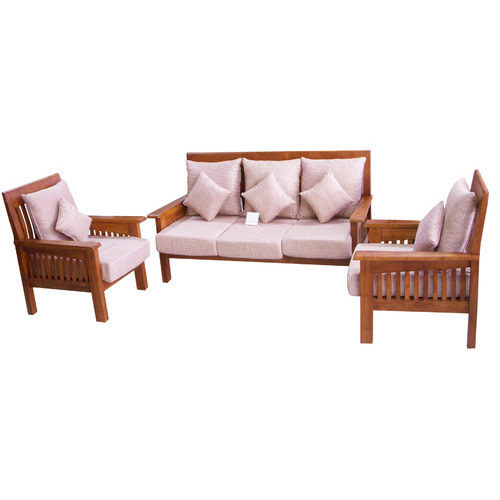 Settee Sofa Furniture Prices In India: Wooden Sofa Set At Rs 10000 /set