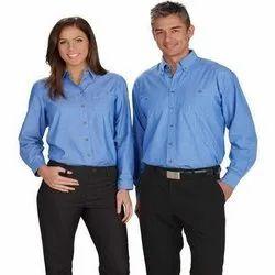 Cotton Commercial Uniforms, Size: Medium