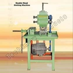 Mild Steel Double Head Slotting Machine, For Industrial