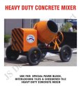 Heavy Duty Concrete Mixer