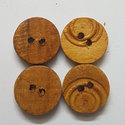 Brown Wooden Button, Size/dimension: 5 To 22 Mm