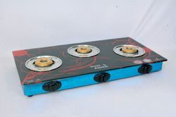 Surya Three Burner Gas Stove, Model Name/Number: Aanch, Packaging Type: Box