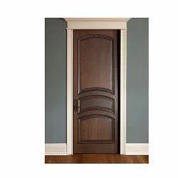 Dark Brown Interior Door