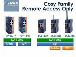 Blue Wireless Or Wi-Fi Ewon Cosy 131 Router Ethernet Remote PLC Access Router Ewon Flexi