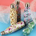 Stainless Steel Print Thermal Insulated Double Wall Vacuum Water Bottle