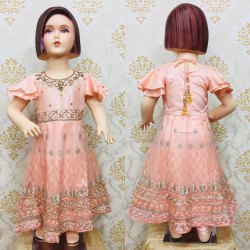 Small Girls Party Anarkali Suit