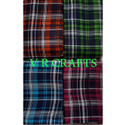 Rayon Check Print Fabric