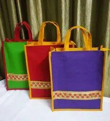 Laminated Jute Gift  Bag