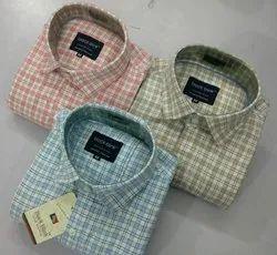 Checks Half Sleeve Men''s Formal Shirt
