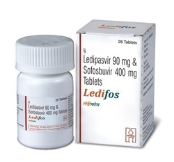 Ledipasvir 90 Mg And Sofosbuvir 400 Mg Tablets