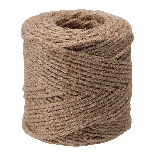 Brown Jute Twine Yarn