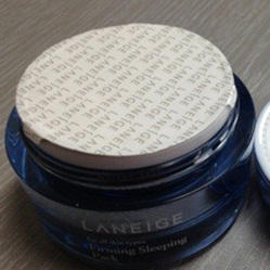 Sealing Wads For Cosmetics