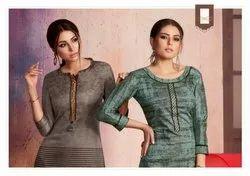 Dark Fantsy Vol-6 Kessi Rangoli Printed Stylish Kurtis