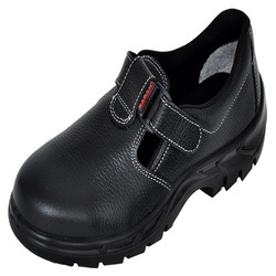 Karam Black Ladies Safety Shoes