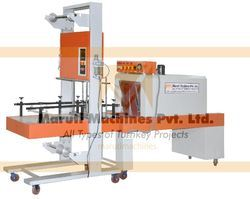 Semi Automatic Bottle Shrink Wrapping Machine