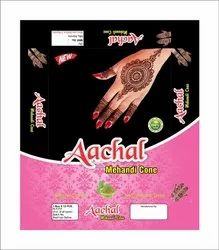 Red Anchal Mehandi Cone, 12 Pieces
