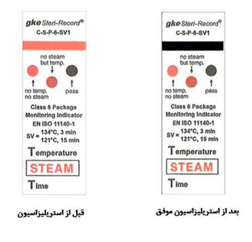 Steam Sterilization Class 6 Chemical Indicator