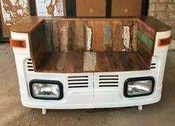 Industrial Truck Body Ambassador Car Sofa for Hotel, Seating Capacity: 2