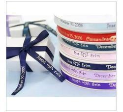 Printed Ribbons with Company Name & Logo
