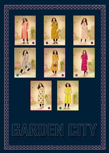 Garden City Vol-5 By Diya Trends Kurti