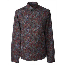 Men Cotton Full Sleeves Printed Shirts
