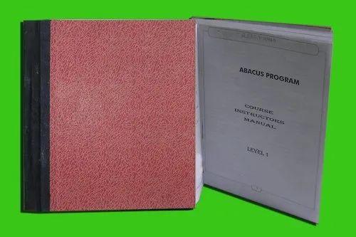 Abacus Teacher Manual