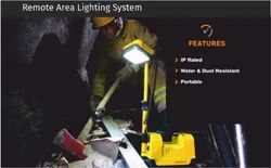 SURE SAFETY Remote area lighting system