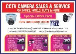 CCTV Camera Installation Service And AMC Service