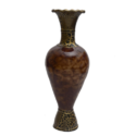 Glori Fyi Brown Antique Handcrafted Vase